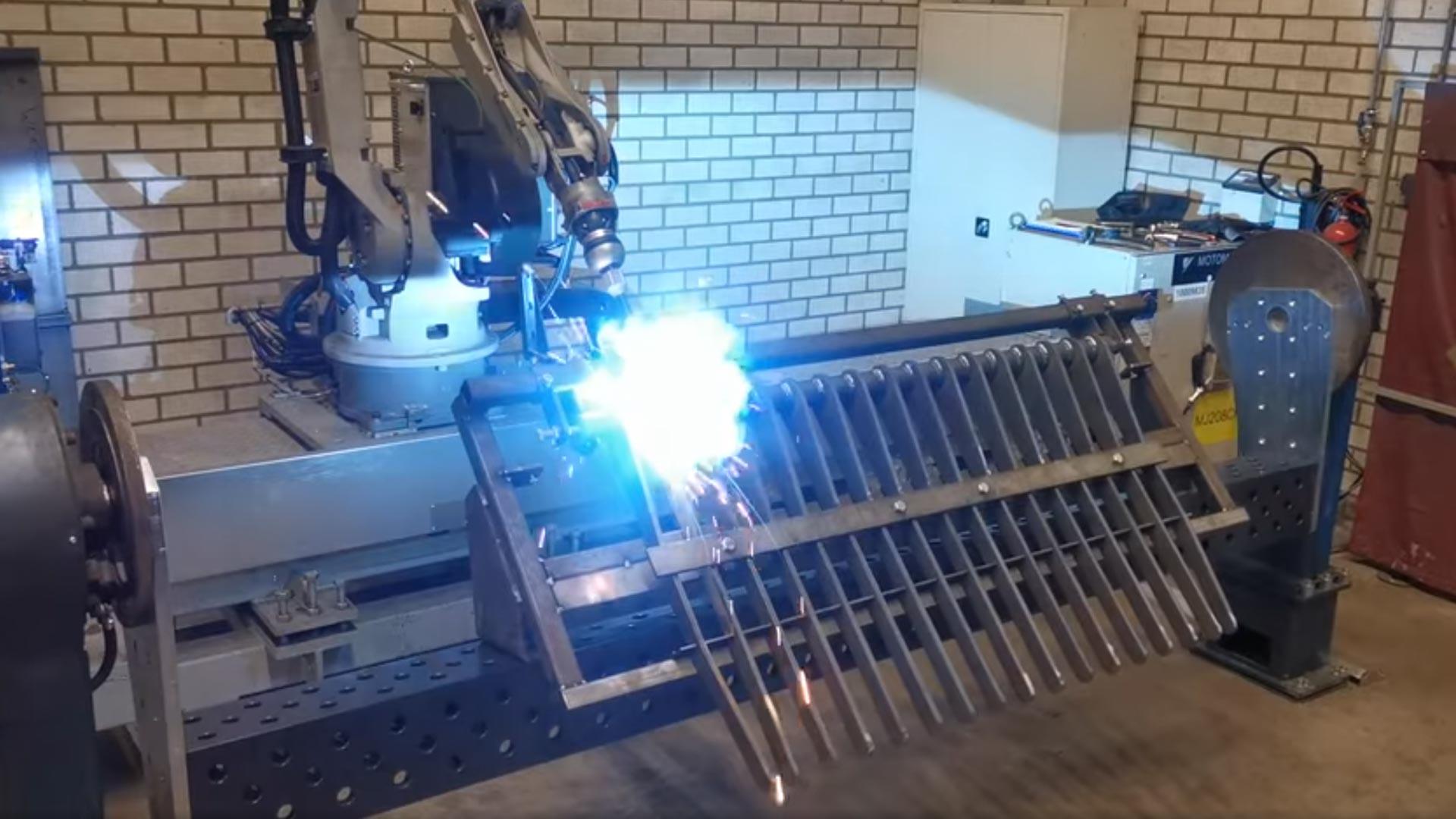 Lasrobot Elco Machinebouw